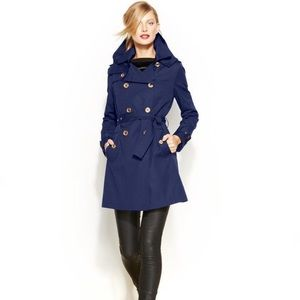 Sapphire Michael Kors Trench Coat size small